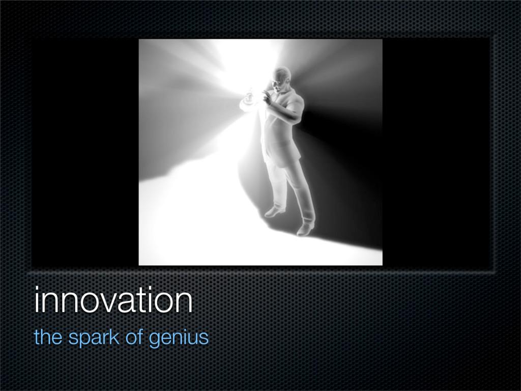 innovation the spark of genius