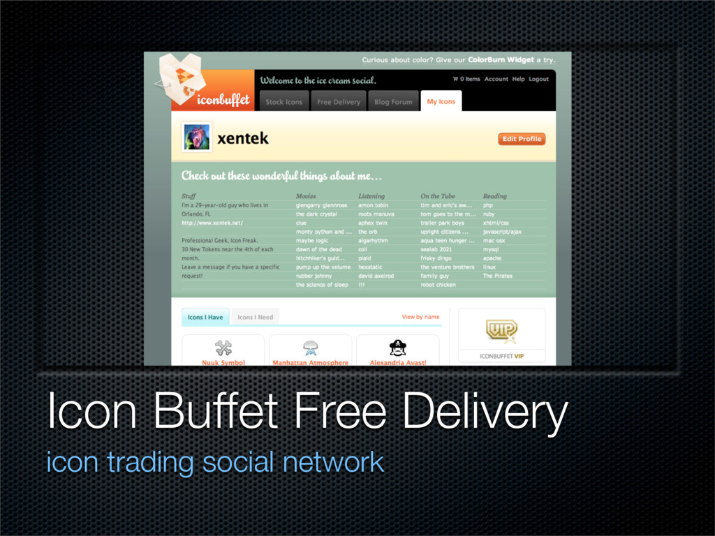 Icon Buffet Free Delivery icon trading social n...