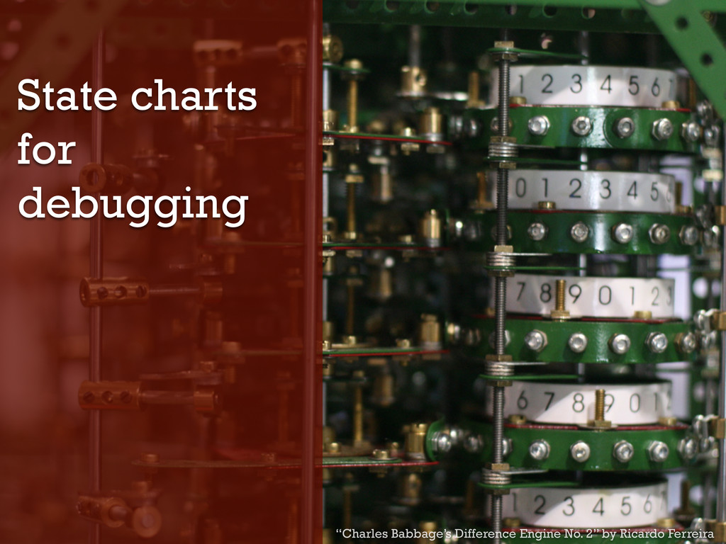 "State charts for debugging ""Charles Babbage's D..."