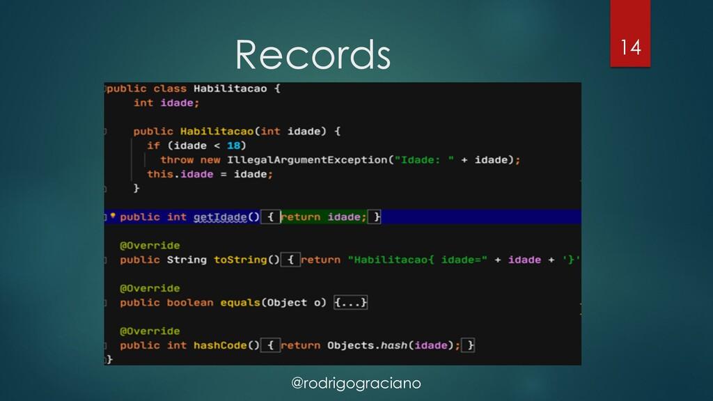 @rodrigograciano Records 14