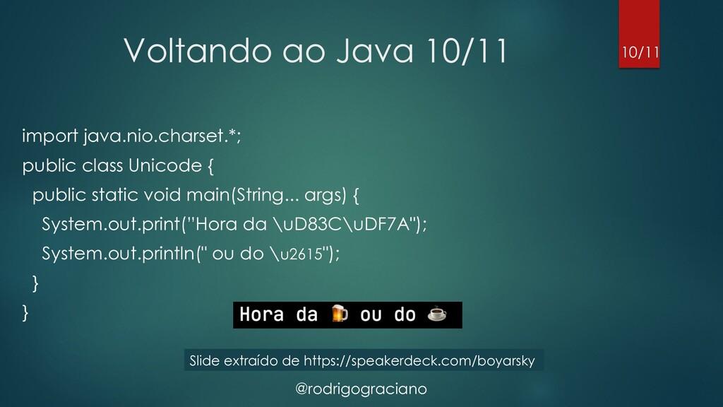 @rodrigograciano Voltando ao Java 10/11 import ...