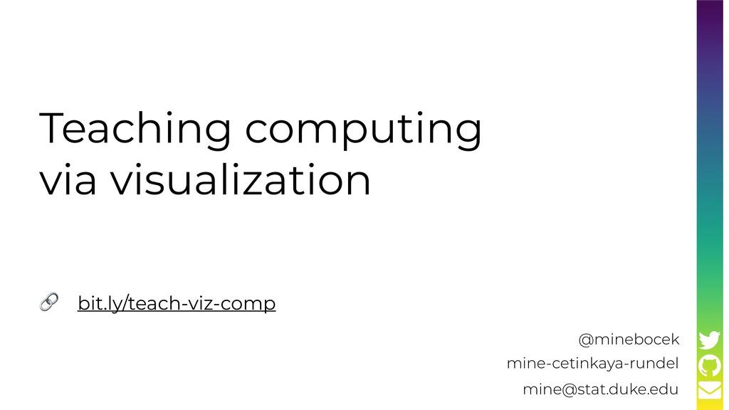 Teaching computing via visualization mine-cetin...
