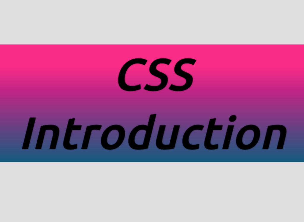 CSS CSS CSS CSS Introduction Introduction