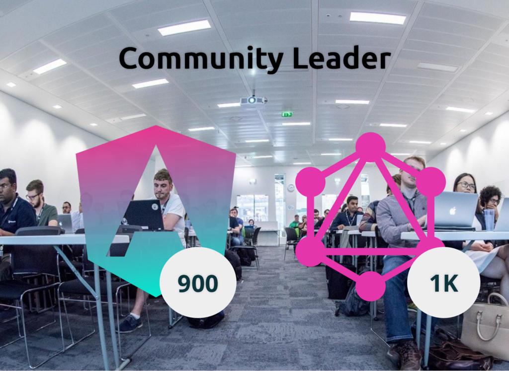 Community Leader Community Leader 900 1K