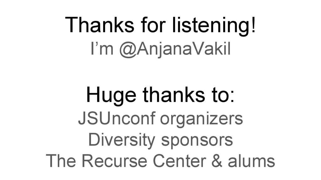 Thanks for listening! I'm @AnjanaVakil Huge tha...
