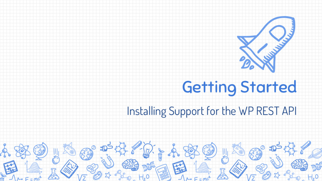 Getting Started Installing Support for the WP R...