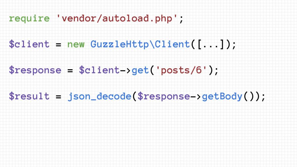 require 'vendor/autoload.php'; $client = new Gu...