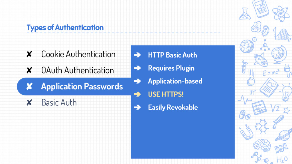 Types of Authentication ➔ HTTP Basic Auth ➔ Req...