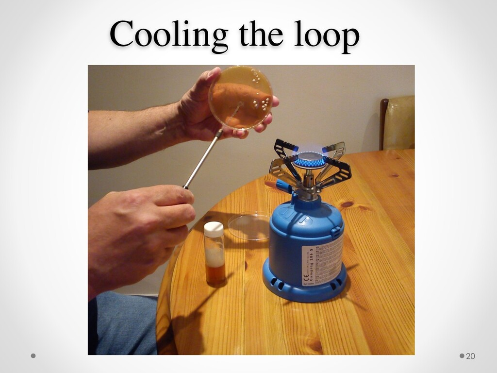 Cooling the loop 20