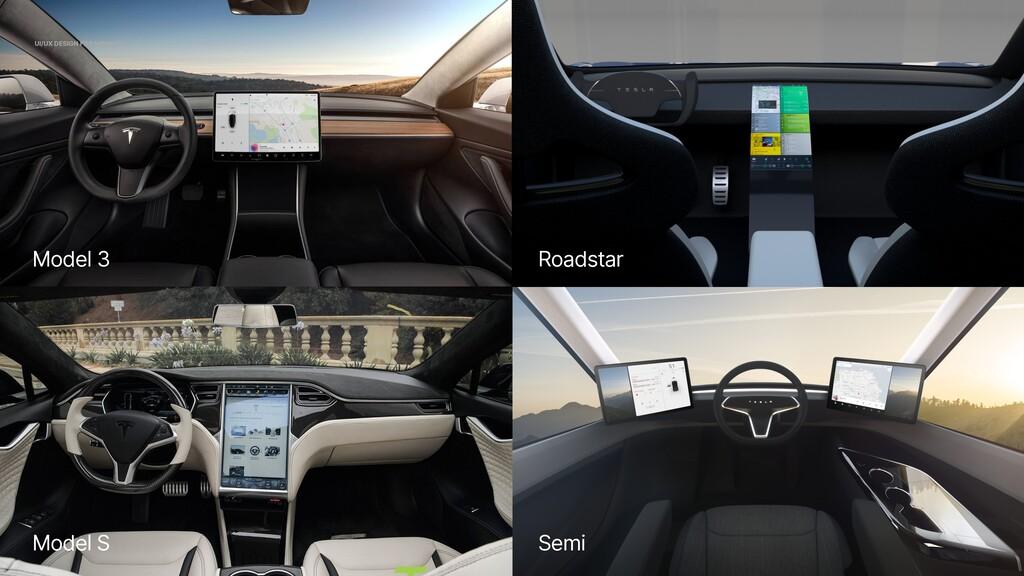 Semi Roadstar Model S Model 3 UI/UX DESIGN FOR ...