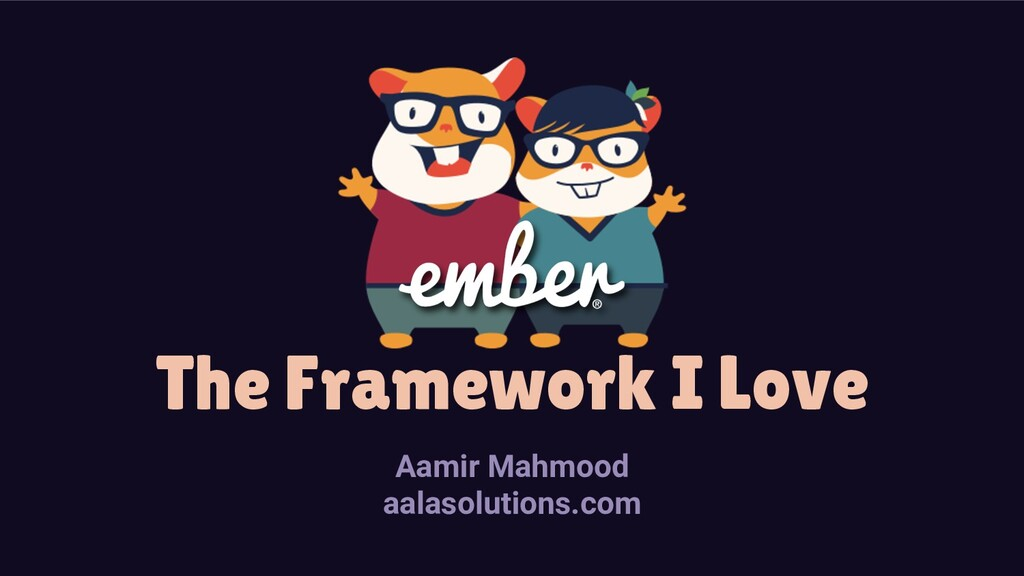 The Framework I Love Aamir Mahmood aalasolution...
