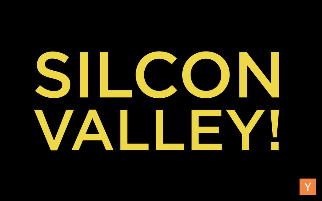 SILCON VALLEY!