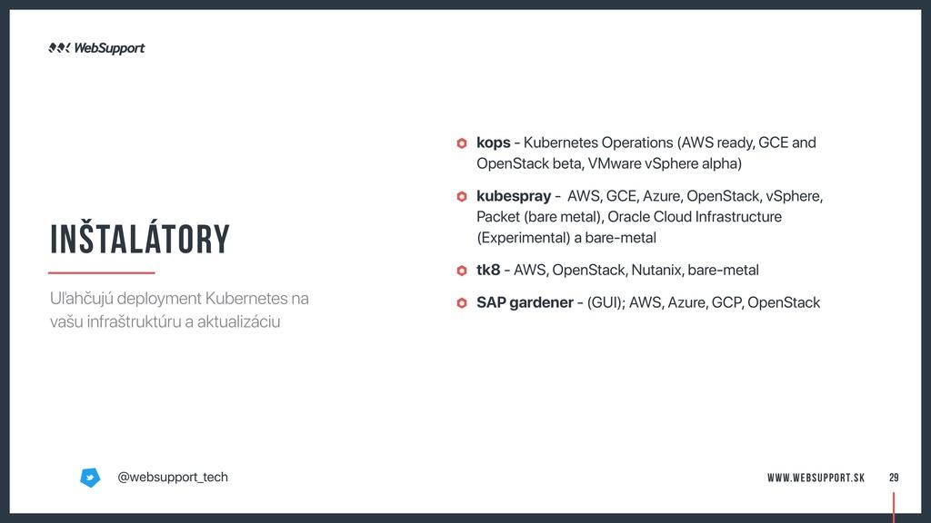 kops - Kubernetes Operations (AWS ready, GCE an...