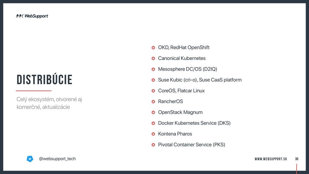 OKD, RedHat OpenShift Canonical Kubernetes Meso...