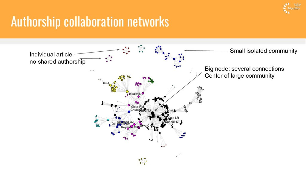 Authorship collaboration networks Individual ar...
