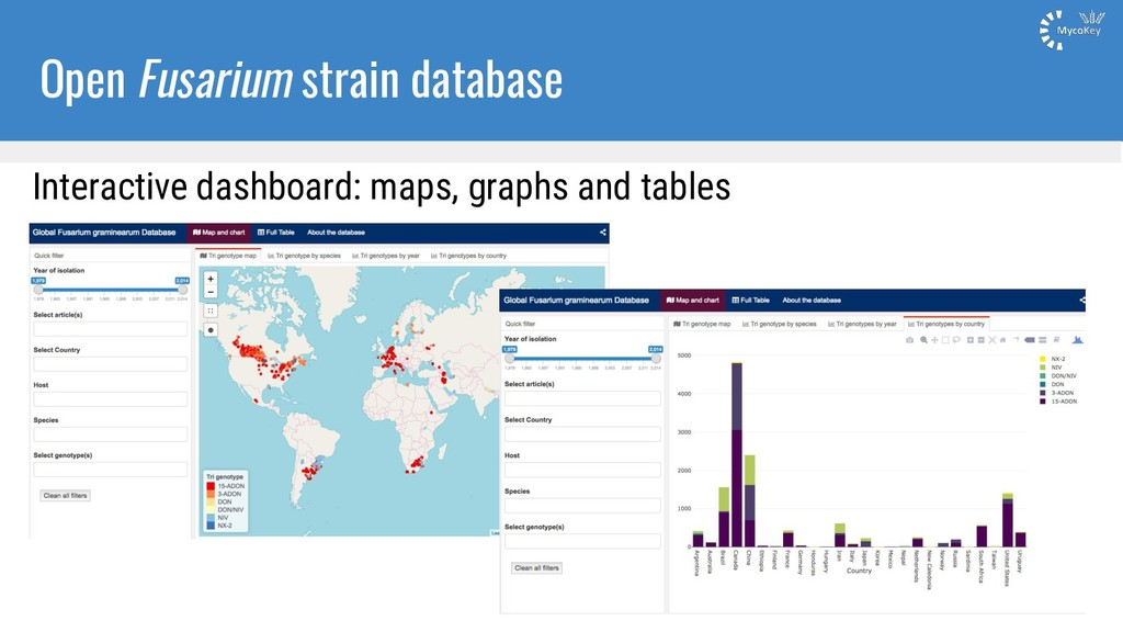 Open Fusarium strain database Interactive dashb...