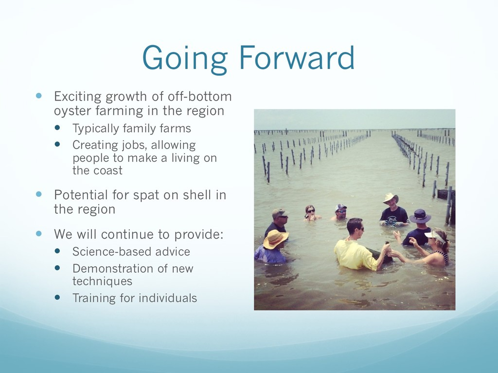 Going Forward — Exciting growth of off-bottom o...