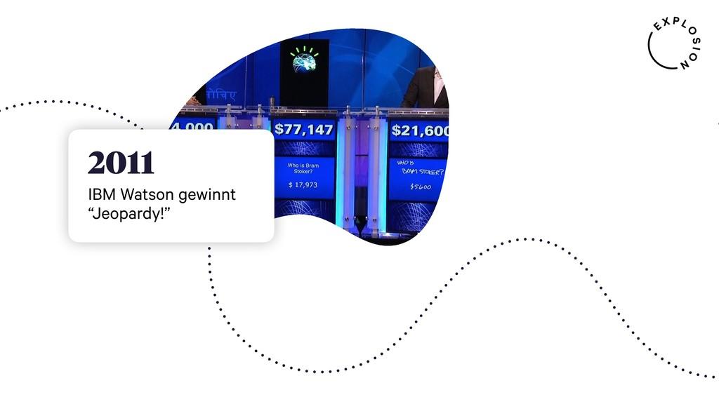 "2011 IBM Watson gewinnt ""Jeopardy!"""