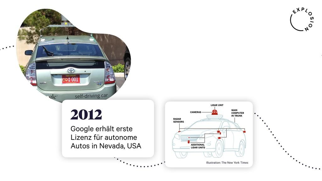2012 Google erhält erste Lizenz für autonome Au...