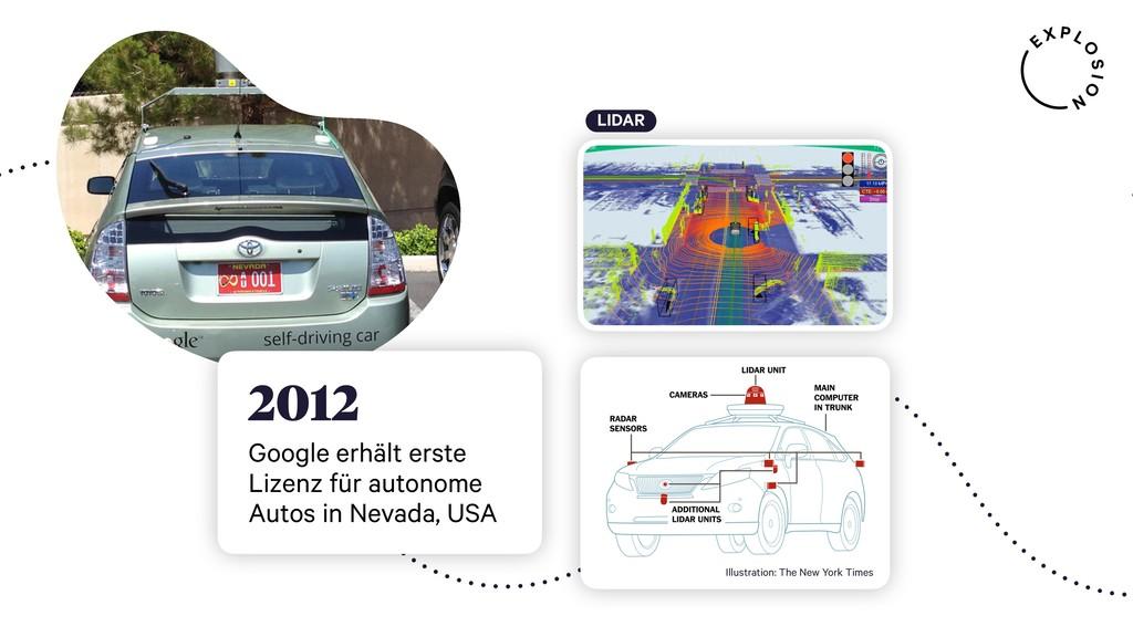 LIDAR 2012 Google erhält erste Lizenz für auton...