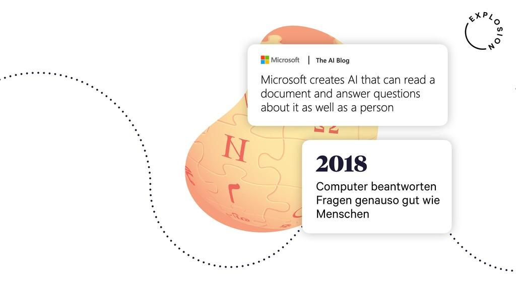 2018 Computer beantworten Fragen genauso gut wi...