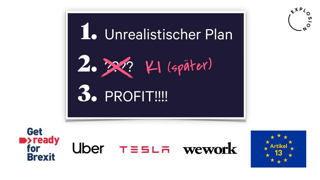 Unrealistischer Plan 1. ???? 2. PROFIT!!!! 3. K...