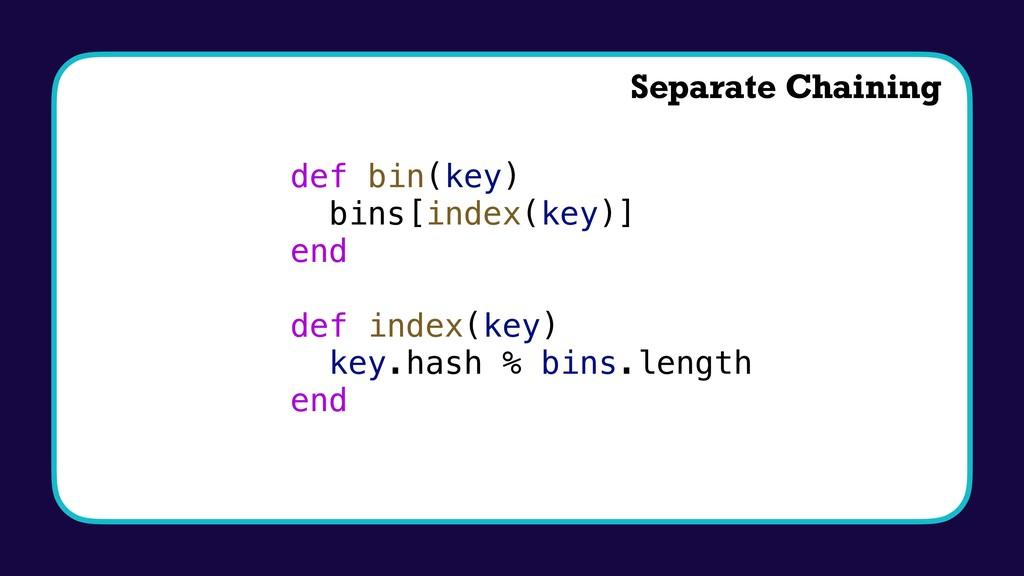 def bin(key) bins[index(key)] end def index(key...
