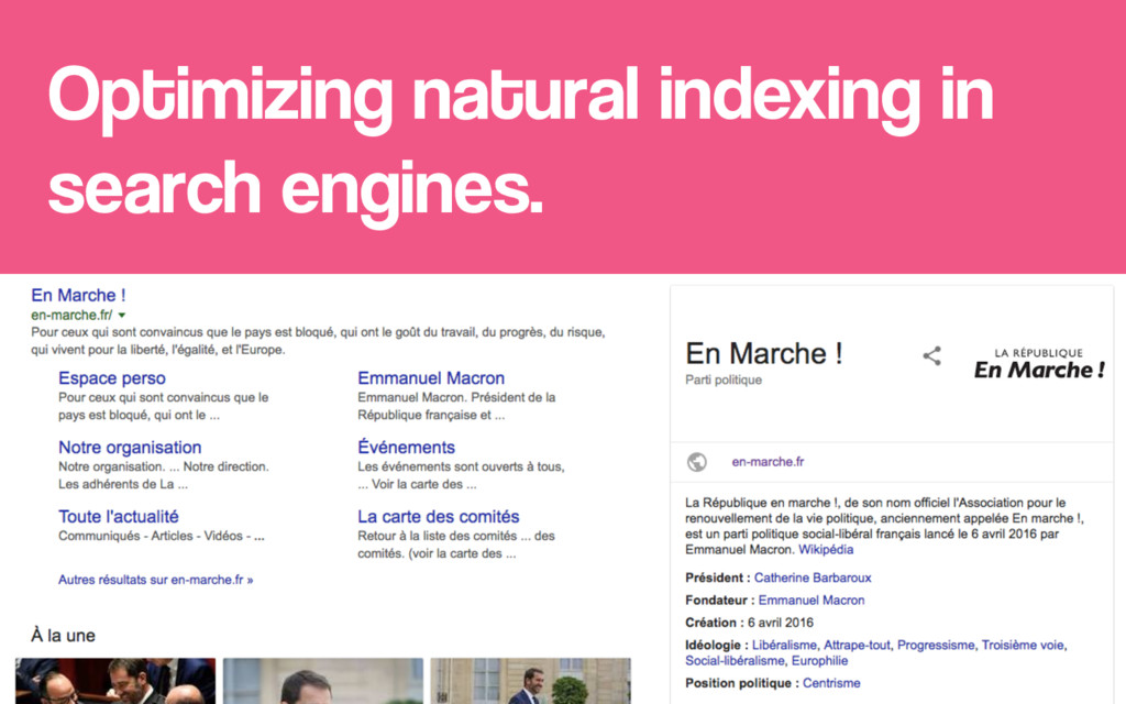 Optimizing natural indexing in search engines.