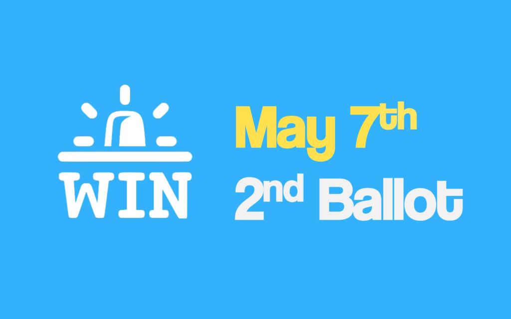 May 7th 2nd Ballot