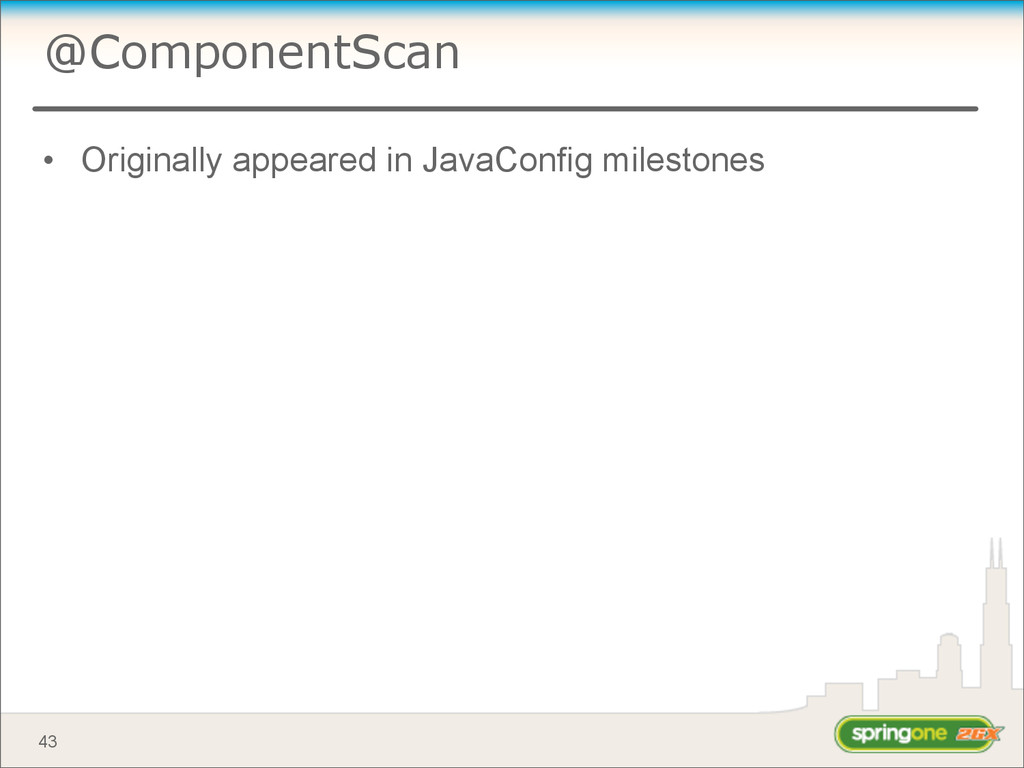 @ComponentScan • Originally appeared in JavaCon...