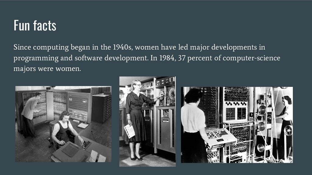 Fun facts Since computing began in the 1940s, w...