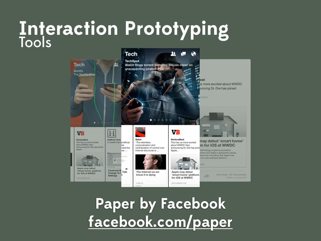 Paper by Facebook facebook.com/paper Interactio...