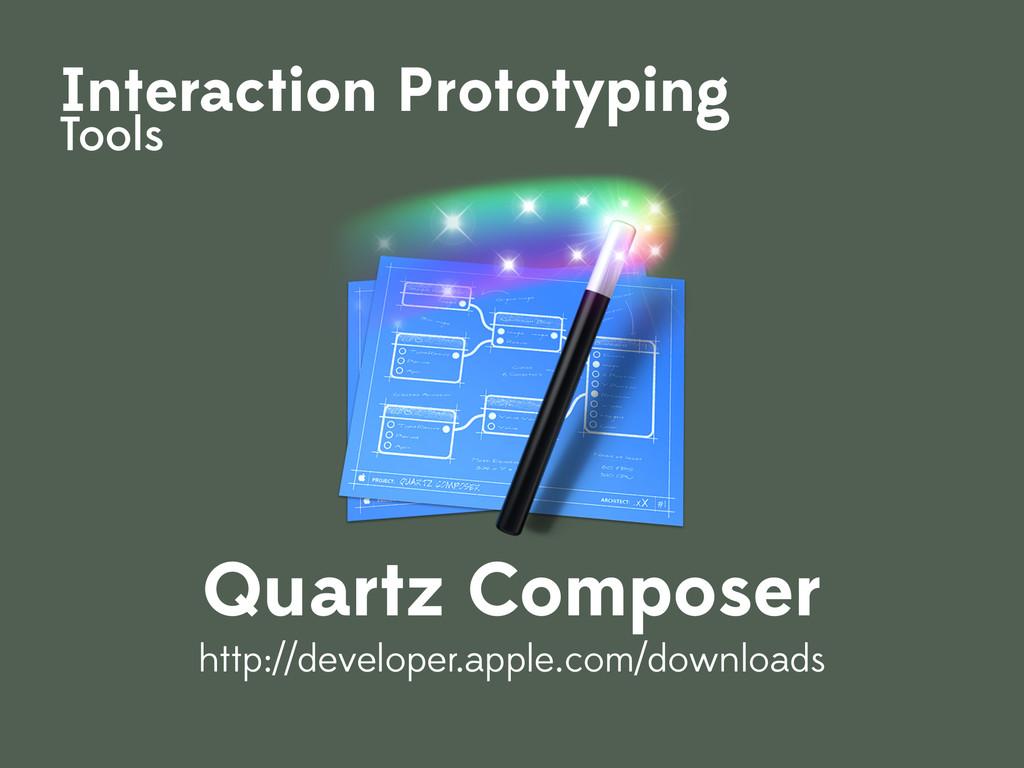 Interaction Prototyping Tools Quartz Composer h...