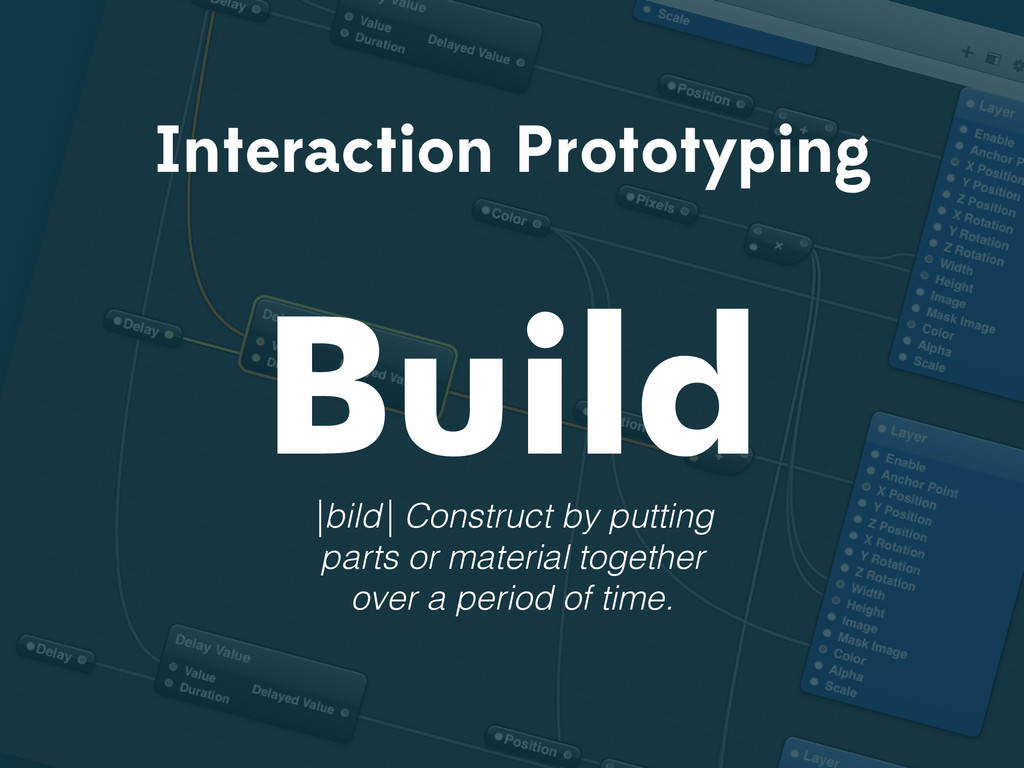Interaction Prototyping Build |bild| Construct ...