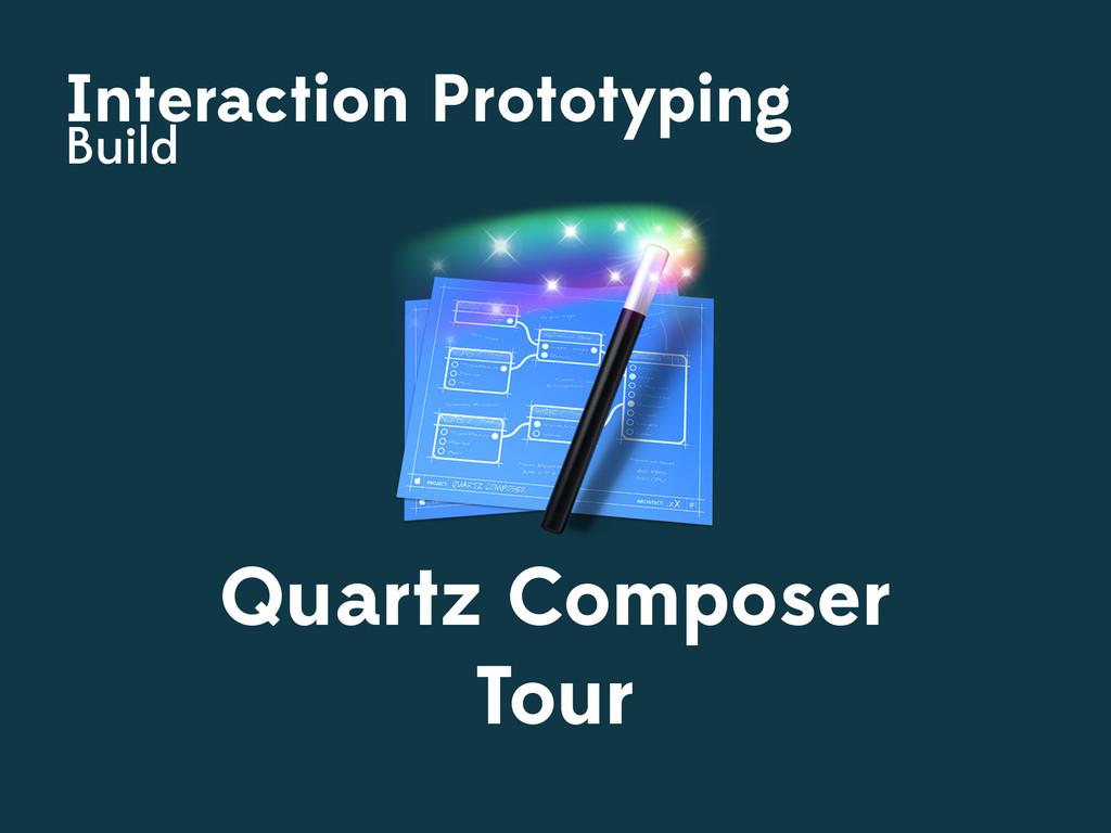 Interaction Prototyping Build Quartz Composer T...