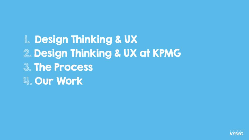 1. Design Thinking & UX 2. Design Thinking & UX...