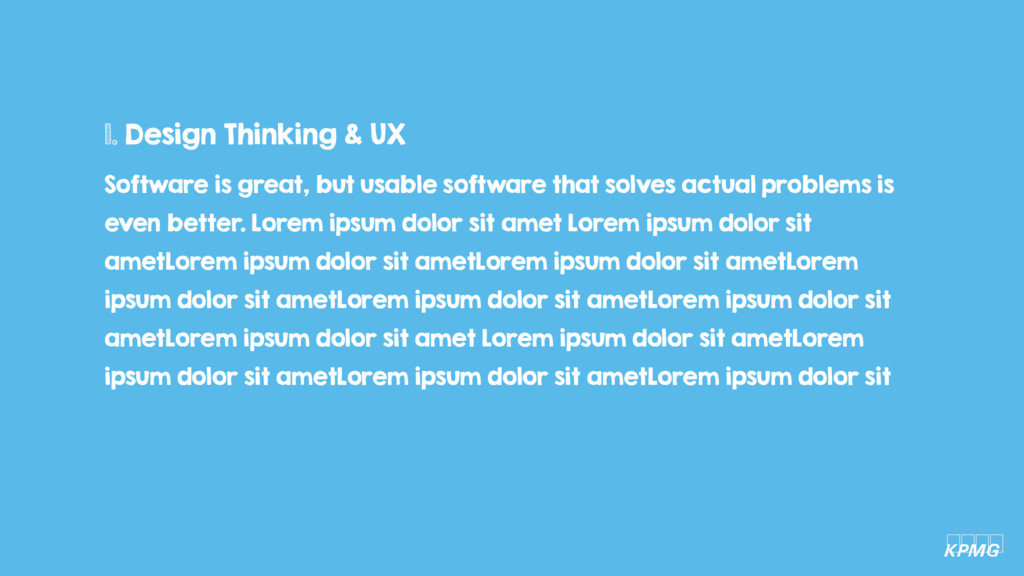 Software is great, but usable software that sol...