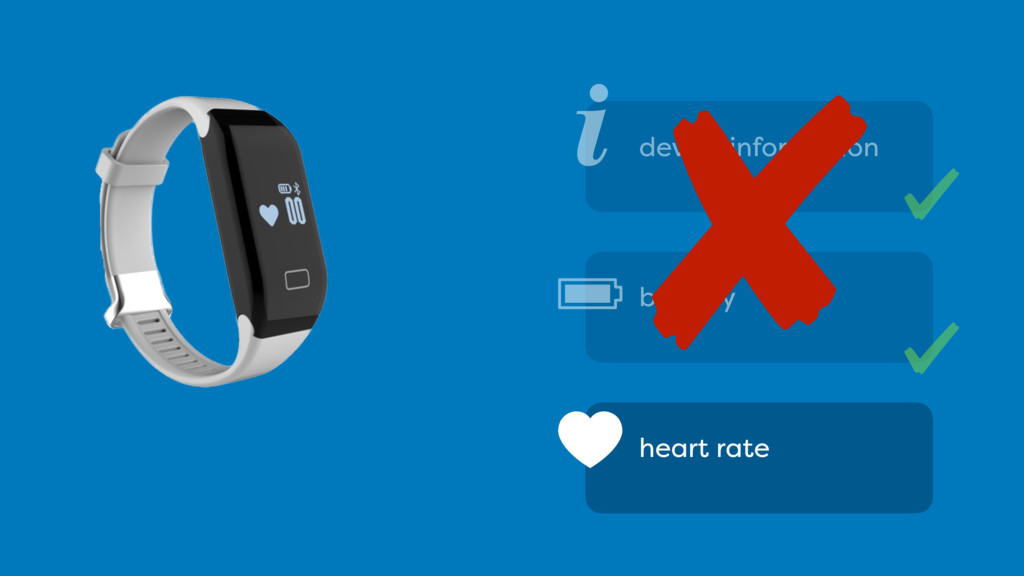 heart rate i device information battery
