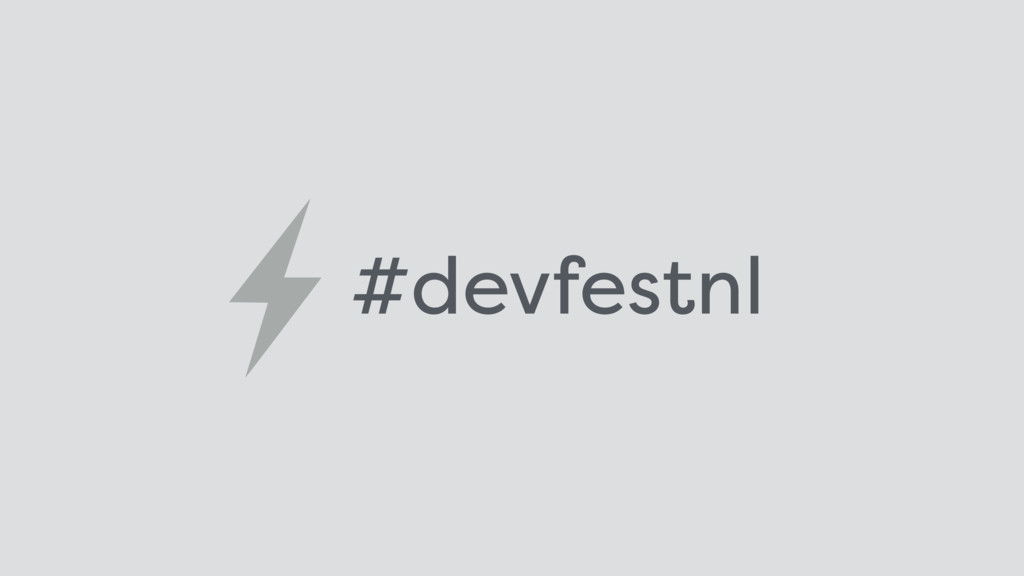 #devfestnl