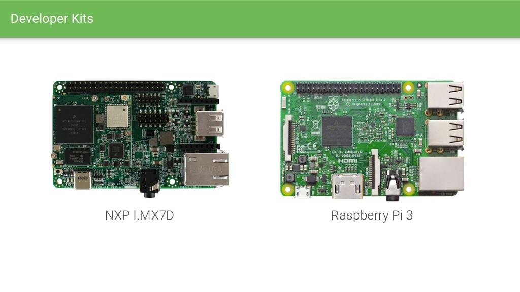 NXP I.MX7D Raspberry Pi 3 Developer Kits