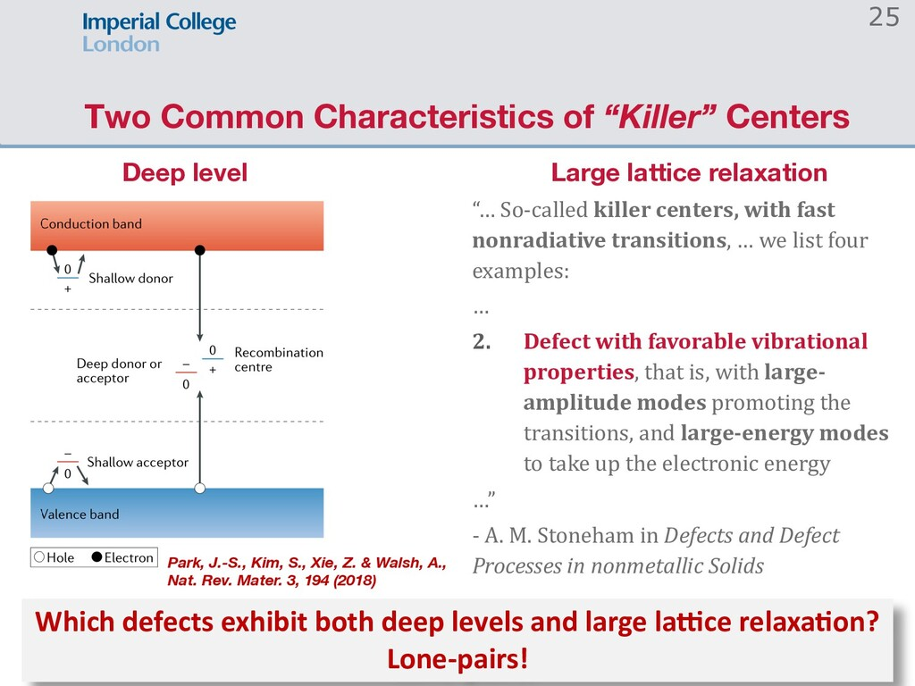 "Two Common Characteristics of ""Killer"" Centers ..."
