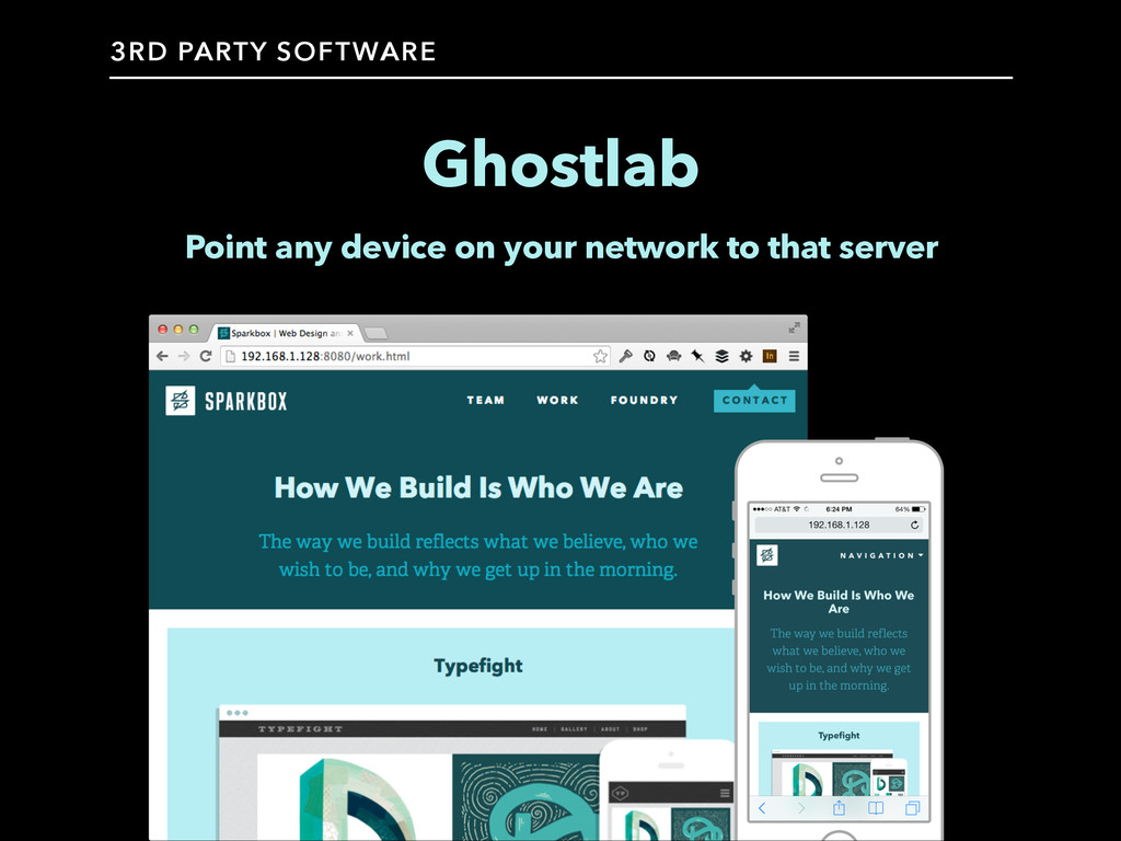 Ghostlab Point any device on your network to th...