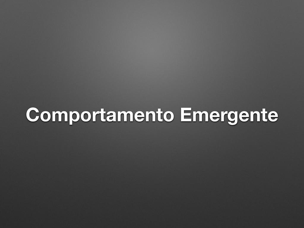Comportamento Emergente