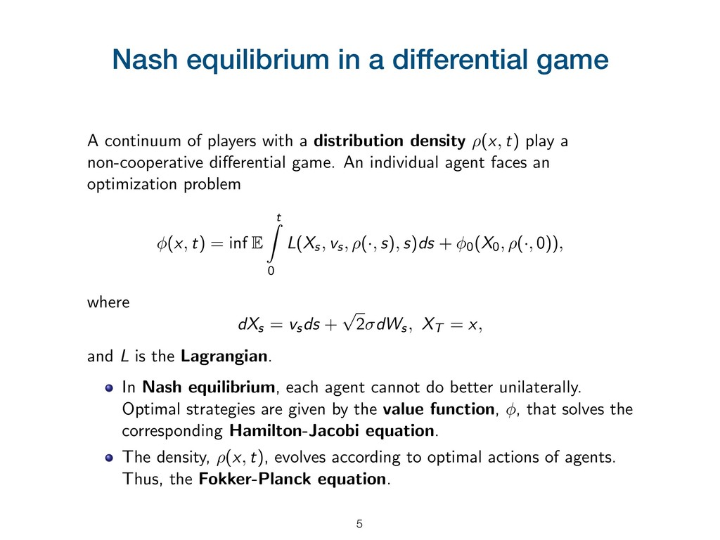 Nash equilibrium in a differential game A conti...
