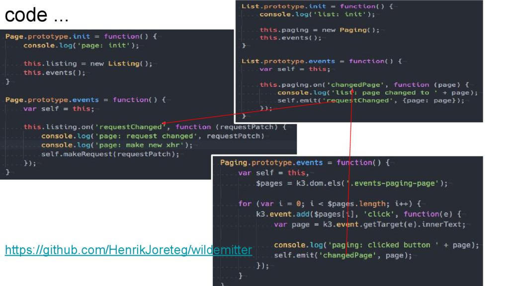 code ... https://github.com/HenrikJoreteg/wilde...