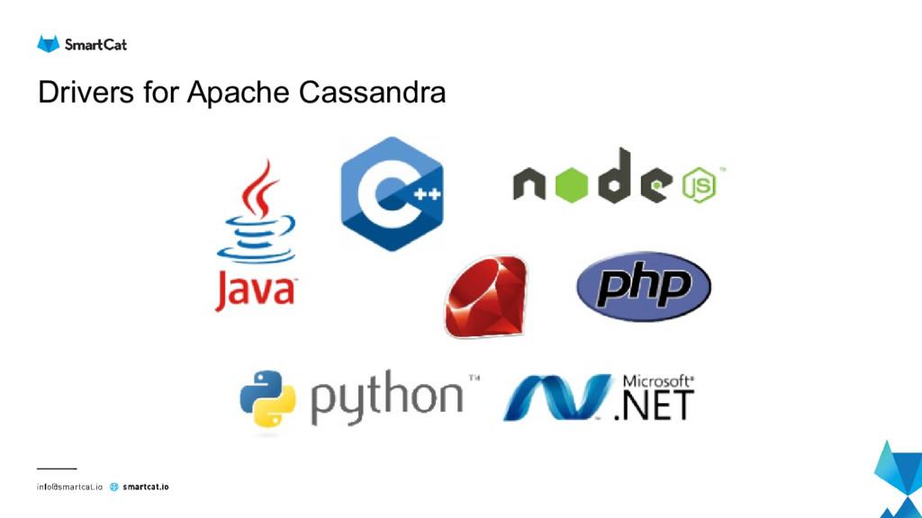 Drivers for Apache Cassandra
