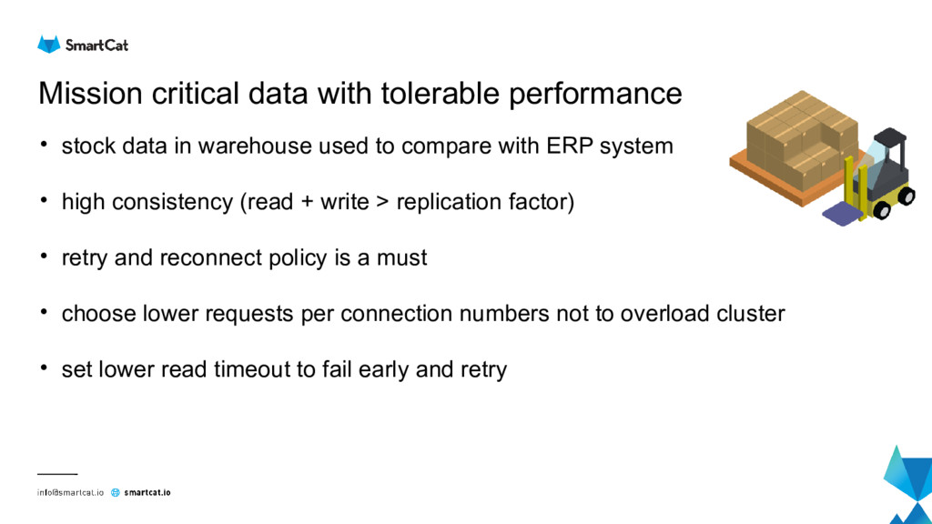 Mission critical data with tolerable performanc...
