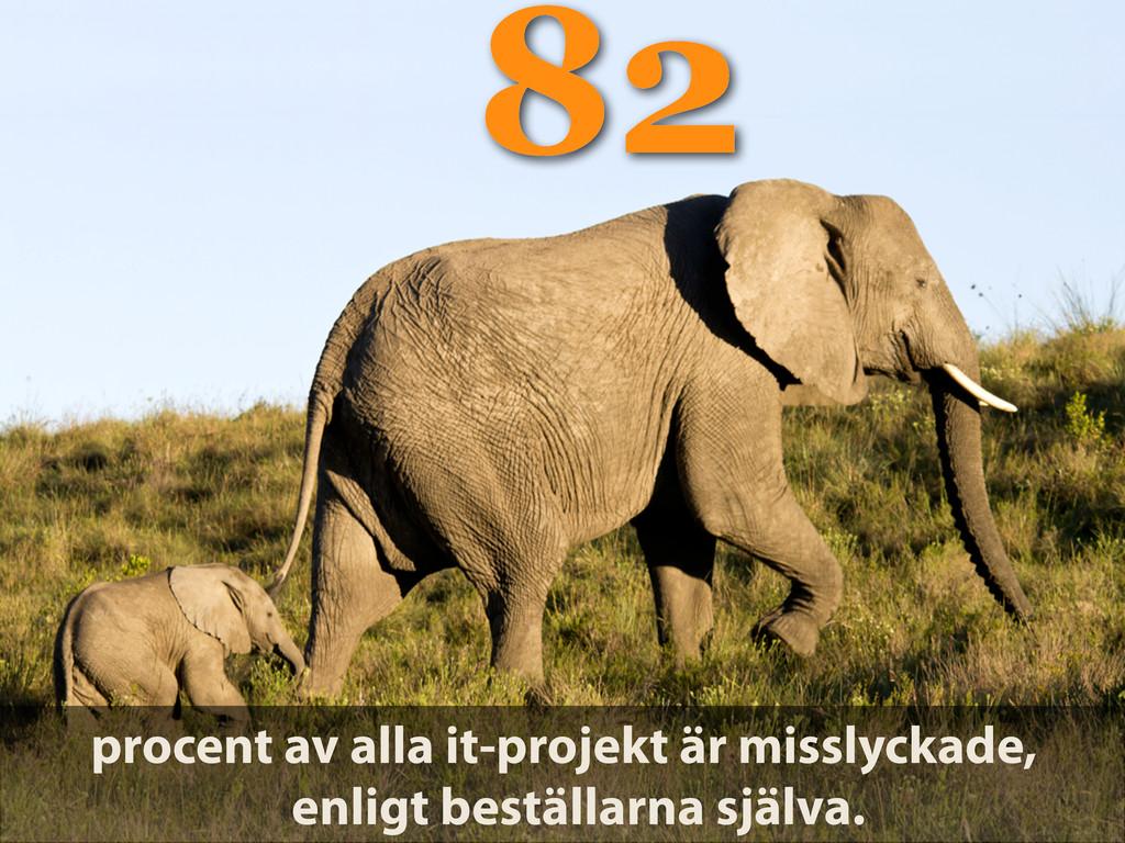 82 procent av alla it-projekt är misslyckade, e...