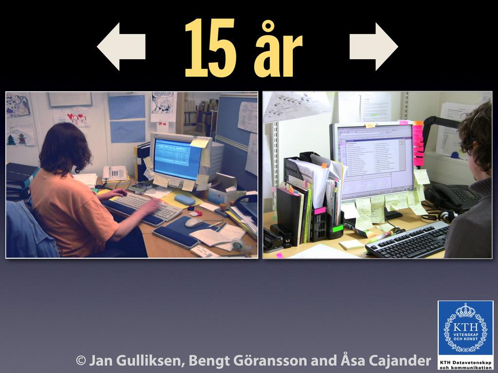 © Jan Gulliksen, Bengt Göransson and Åsa Cajand...