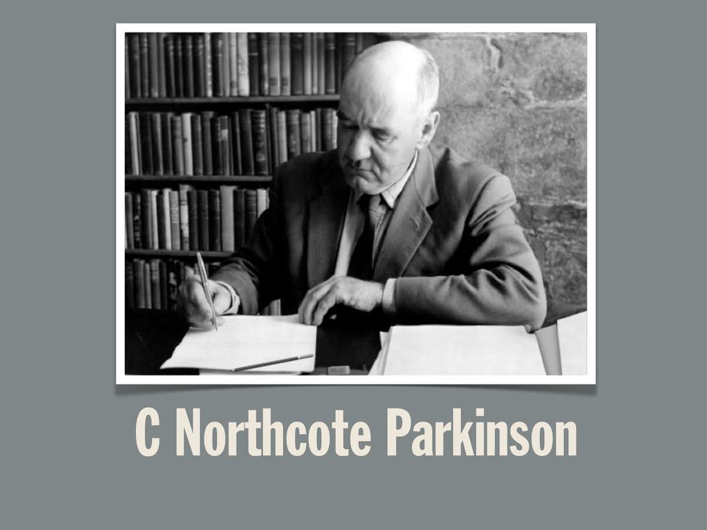 C Northcote Parkinson